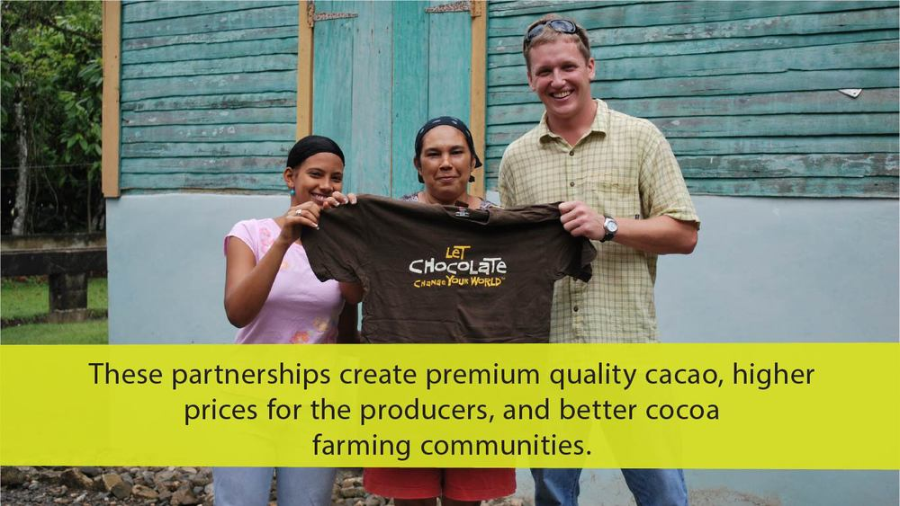 Working together to create better quality chocolate
