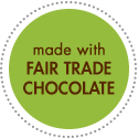 made with fair trade chocolate icon