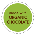 made with organic chocolate icon