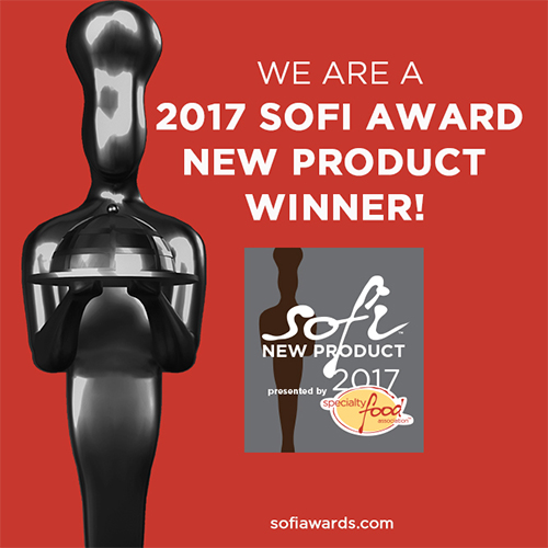 Winner of 3 sofi Awards!